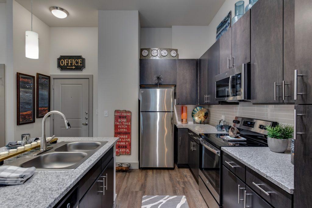 GOB unit kitchen