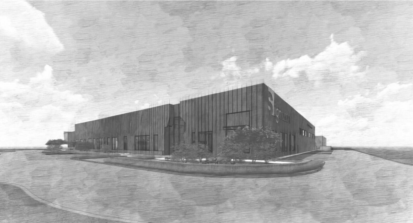 Bob Moore Construction Starts Construction on new Signazon facility in Plano