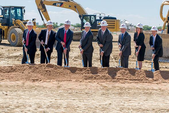 Bob Moore Construction Breaks Ground on New Distribution Center for TTI, Inc.