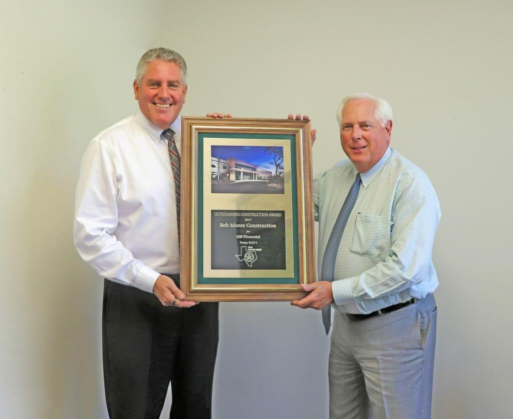 Bob Moore Construction Wins AGC-Texas Building Branch Award