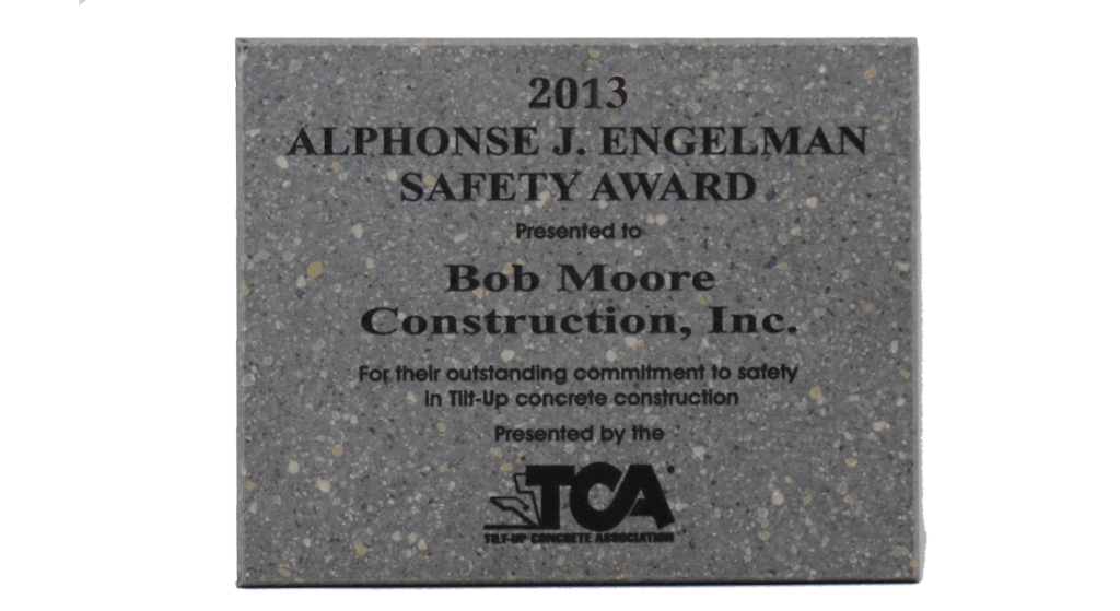 2013 TCA Safety Award