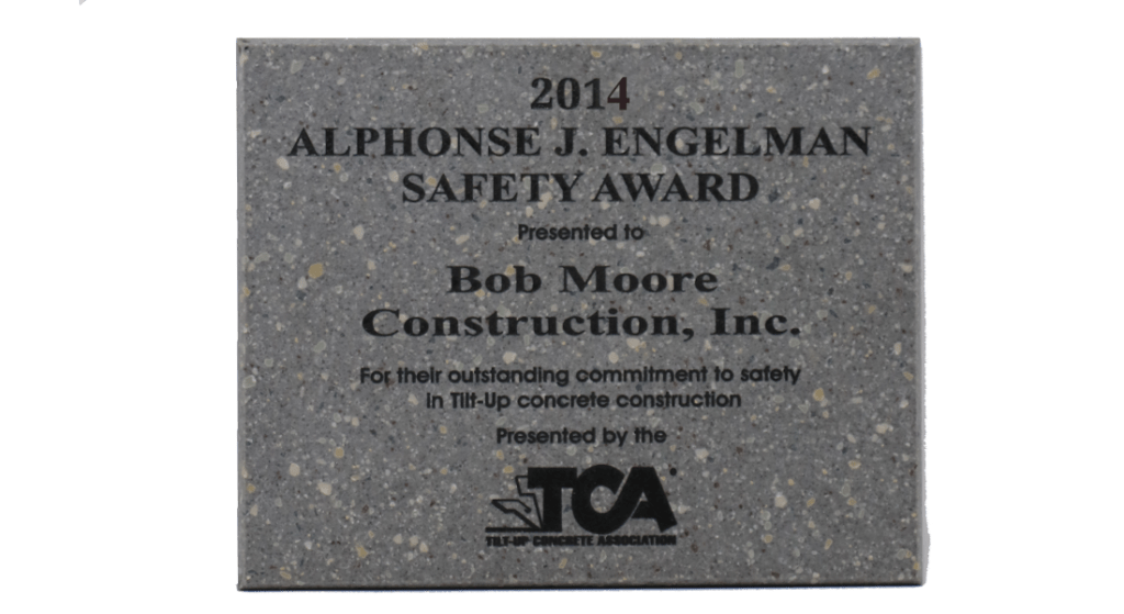 2014 TCA Safety Award