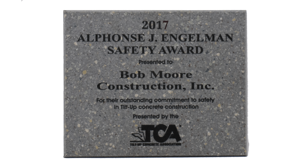 2017 TCA Safety Award