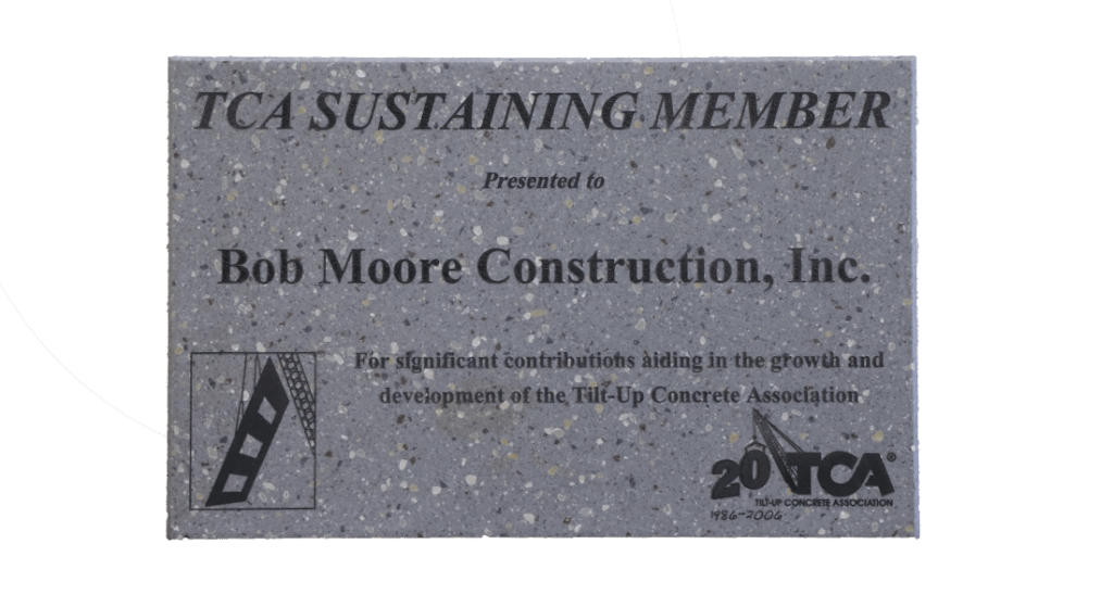 Tilt-Up Concrete Association Sustaining Member